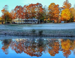 Frost delay ️⛳ (Samuel Louis McCloud) Tags: millcreekgolfclub golf reflections northcarolina