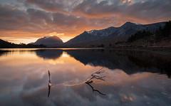 Loch Clair (chrismarr82) Tags: loch clair torridon highlands scotland nikon sunset sun reflection
