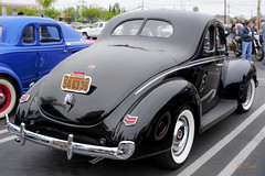 1940 Ford Deluxe Coupe (Pat Durkin OC) Tags: donutderelicts 1940ford deluxe coupe stock standard whitewalltires