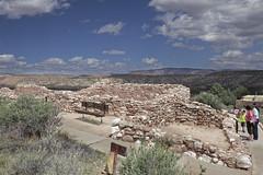 Tuzigoot National Monument 1 (Largeguy1) Tags: approved tuzigoot national monument landscape clouds blue sky canon 5d mark ii arizona
