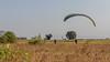 Ground handling at Ashram site (faram.k) Tags: ashram kamshet nirvana paragliding palenanemawal maharashtra india in