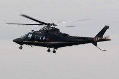 AGUSTA WESTLAND AW-109 G-DVIP NEWCASTLE (toowoomba surfer) Tags: helicopter aviation ncl egnt