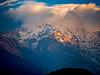 Sunset over the Himalayas, Nepal (CamelKW) Tags: abc annapurnabasecamptrek annapurnaregiontrek kathmandu mbc machapuchare machapucharebasecamp nepal pokhara