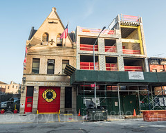 FDNY Firehouse Engine 235 and Battalion 57, Bedford-Stuyvesant, Brooklyn, New York City (jag9889) Tags: brooklyn jag9889 usa 2017 building monroestreet construction battalion57 newyorkcity firehouse bedfordstuyvesant outdoor 20170615 e235 fdny newyork architecture bedstuy bravest firedepartment firedepartmentofthecityofnewyork firestation firefighter firstresponder house kingscounty ny nyc newyorkcityfiredepartment newyorksbravest unitedstates unitedstatesofamerica us