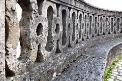 Old stone balustrade (rotraud_71) Tags: germany fränkischeschweiz basilika balustrade gösweinstein pilgrimagechurch concordians