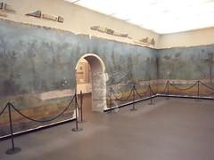 Gli affreschi della villa di Livia a Palzzo Massimo _06