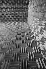 Anechoic (Illogical_images) Tags: anechoic chamber bnw mono greyscale abstract illogicalimages a7r abandoned industrial sound