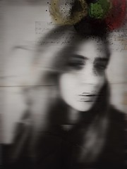 memorial rewinding (elizabadoiu) Tags: iphoneography digitalart brushes selfie portraiture dark pr0jectuno