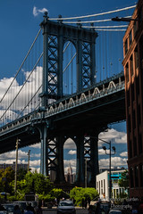 Empire State Building Framed by the Manhattan Bridge (Bards' POV) Tags: christopherbardenphotography arch architecture clouds sky eastriver suspensionbridge dumbo framed empirestatebuilding manhattanbridge brooklynpark brooklyn nyc newyorkcity newyork unitedstatesofamerica usa