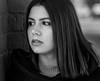 Courtney - Fall Portrait Session (bonavistask8er) Tags: nikon d7100 85mm model portrait beauty headshot strobist sb910 cls hss bokeh dof bw monochrome blackandwhite