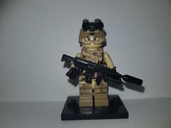 KSK DMR Sniper (影Shadow98) Tags: lego special forces army navy infantry minifigcat tiny tactical brickarms ksk german dmr g27 hk417 heckler koch