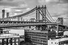 Manhattan Bridge (Thomas Hawk) Tags: brooklyn dumbo manhattanbridge newyork newyorkcity unitedstates unitedstatesofamerica architecture bridge bw fav10 fav25 fav50 fav100