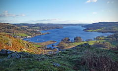 Windermere from Todd Crag (Andrew Gustar) Tags: lakedistrict cumbria ambleside windermere lake todd crag