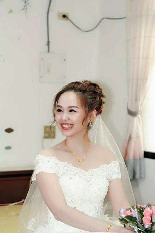 嘉義新秘,新秘,新娘秘書,滿福樓婚宴廣場,結婚造型