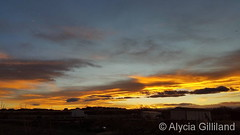 November 22, 2017 - Another stunning sunset. (Alycia Gilliand)