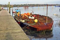 Timeless (Deida 1) Tags: pinmill suffolk riverorwell barge old