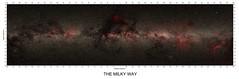 Map of the Milky Way galaxy  (captioned version) (Mindaugas Macijauskas) Tags: milky way galaxy dust clouds cloud stars stellar color indices interstellar galactic astronomy tycho hipparchos sattelite observatory space cosmos hydrogen alpha sky survey lognitude lattitude