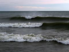 Lake Michigan - not every lake dreams to be an ocean. (Laura Rowan) Tags: lakemichigan waves cold wind november autumn sheboygan wi