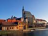 Cesky Krumlov (Vid Pogacnik) Tags: czechrepublic krumlov town church vltava travel