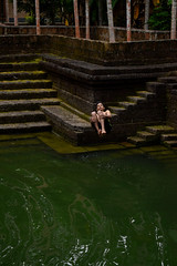 Rock to Water (rajeshvengara) Tags: dive nature water kerala india venhara kannur pond swim green