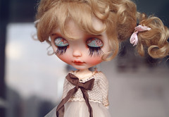 Cherie Babette (k07doll) Tags: blythe blythecustom blythedoll bigeyes customblythe custom cubby sweet doll k07 k07doll