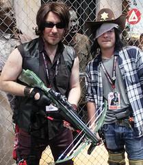 2017-Fans Dressed Up as Walking Dead's Daryl Dixon & Carl at SDCC-03 (David Cummings62) Tags: sandiego ca calif california comiccon con david dave cummings 2017 walkingdead amc imagecomics carl daryldixon tvseries
