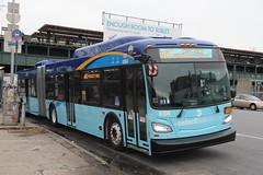 IMG_4129 (GojiMet86) Tags: mta nyc new york city bus buses 2017 xd60 6104 m60 sbs select service hoyt avenue 31st street