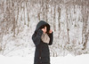 Coat2 (AlecTse) Tags: japan snow hokkaido niseko ski winter village white girl portrait 120 film fujifilm kodak portra mamiya 7ii 6x7 medium format 65mm 150mm forest trees mood landscape