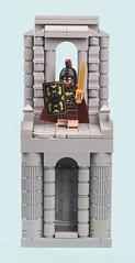 Baturion (MinifigNick) Tags: lego batman afol minifigure roman column