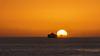Canary ferry (Migge88) Tags: fähre schiff boat ferry sea meer wasser water sun sonne sonnenuntergang sunset kanaren canaries teneriffa tenerife gelb wolke cloud sony alpha 6500