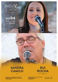 CONCERTO IN FADO - Duetos da Sé - Alfama Lisboa - SEGUNDA-FEIRA 4 DEZEMBRO 2017 - 21h30 - Sandra Camilo - Rui Rocha