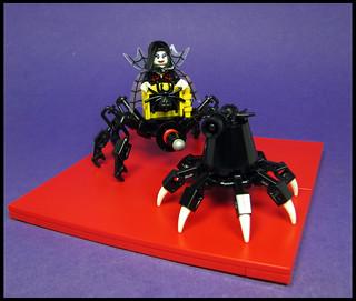 Lady Arachnia Devros and attendant Spilek