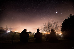 Starry sky over Austria (Cle Manuel) Tags: night starry sky landscape city lights stars sterne nacht people samyang 12mm sony sonyalpha clemanuel cle manuel