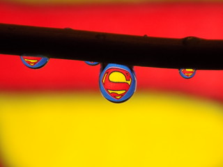 Superman Water Drop