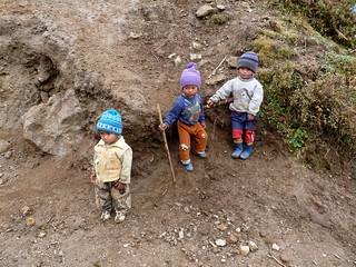 kids - Singalila National Park - Eastern Himalayas
