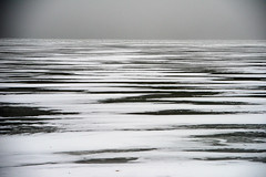 ice (solalta) Tags: lakewinnipeg grey nature snow winter fog lake blackandwhite monochrome ice