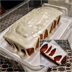 Snowball Pound Cake (IrishMomLuvs2Bake) Tags: poundcake creamcheesefrosting snowballcake christmasparty holiday cake sweets dessert baked
