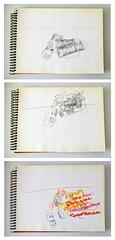 01_hilos ([silvicius]) Tags: taller soniaesplugas ilustración illustration boceto sketch silvicius silviaparravicini silvis