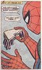 A rubber glove sandwich (Tom Simpson) Tags: spideymeetsthespoiler spideysuperstories 1974 jeanthomas winslowmortimer mikethomas comics 1970s spiderman comicbook vintage art illustration rubberglove glove sandwich