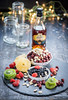 Rum and dry fruits (color and spices) Tags: dryfruits nuts cranberry fruits christmascake christmas rum pineapple kiwi strawberry winter