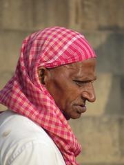 varanasi 2017 (gerben more) Tags: portrait people portret man bandana varanasi benares india