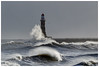 Storm season. (malcbawn) Tags: lighthouse landscape northsea pier northwind rough waves stormysea rokerlighthouse outdoorphotography photography sunderland outdoors seascape winter storm sea malcbawnphotography