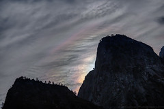 Iridescent Clouds by Cathedral Rocks at Night! (Jeffrey Sullivan) Tags: fall colors workshop yosemite nationalpark photography landscape travel california usa nature canon eos 6d photo copyright november 2017 jeff sullivan unitedstates sierranevada national park united states morning fog mist weather iridescent clouds refraction spectrum physics science