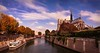 Notre Dame Cathedral and River Seine (Barry O Carroll Photography) Tags: notredamedeparis notredame cathedral river seine water quays paris france city cityscape urbanlandscape architecture travel landscape