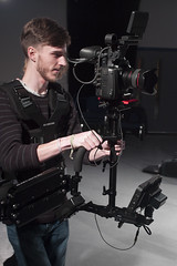 November 9th 2017 - Project 365 (Richard Amor Allan) Tags: glidecam cameraoperator camera c500 odyssey lesson student workshop project365