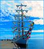 Cuauhtemoc - 2017 11 06 San Pedro (Sunset Beach Buzz) Tags: cuauhtemoc em1markii olympus buzzfotoz sky ship sailingship sailboat