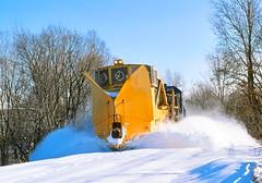 CR 8140                        12-85 (C E Turley) Tags: trains railroad railway conrail snowplow