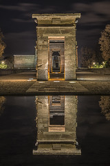 Reflejos en el Templo (jetepe72) Tags: templo debod madrid reflejos nocturna urbana españa spain