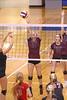 IMG_7708 (SJH Foto) Tags: girls volleyball high school garnet valley hempfield hs team net battle spike block action shot jump midair burst mode