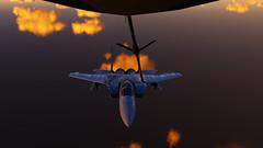 Refueling_15 (The_SkyHawk) Tags: world f15 eagle usaf refueling air force dcs digital combat simulator flight flying jets aviation virtual flightsim
